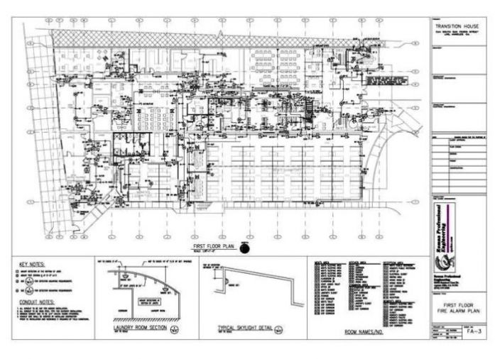 FA-3 Floor Plan 1st
